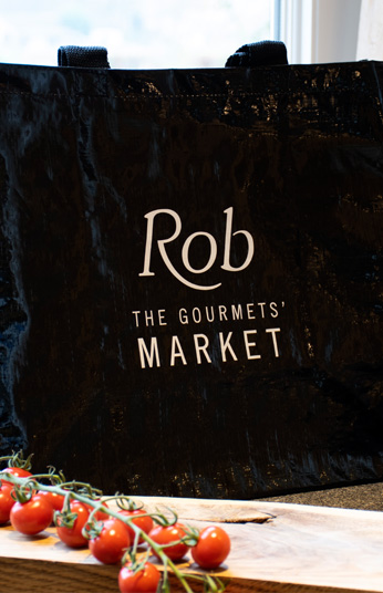 Draagtas Rob The Gourmets Market